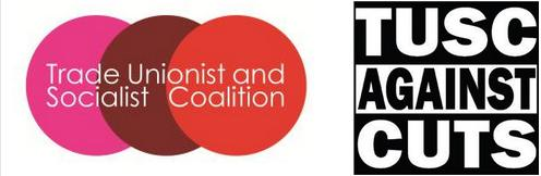 TUSC 3 CIRCLES LOGO & TUSC AGAINST CUTS